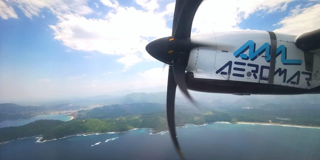 Aeromar, vuelo, SLP, turismo, Sectur, San Luis Potosí