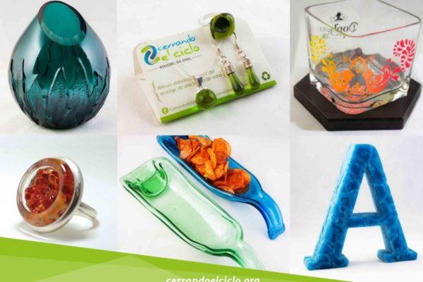 Cerrando el Ciclo, reciclaje, vidrio, Maleta de Viajes, medio ambiente, ecología, contaminación, residuos