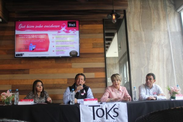 Toks, Cáncer de mama, menú rosa, gastronomía, baúl gastronómico, Maleta de Viajes, viajes, comida