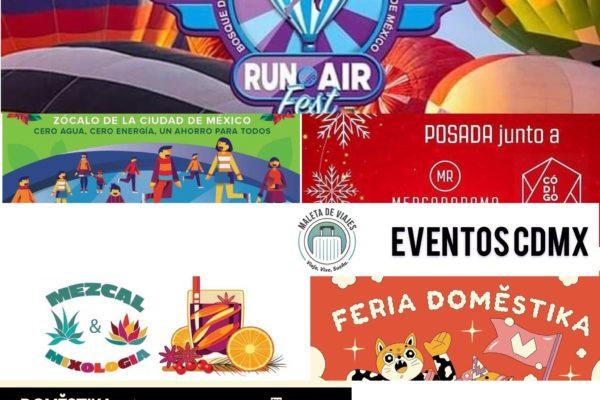 Maleta de Viajes, fin de semana, CDMX viajes, turismo, cultura, Navidad, eventos