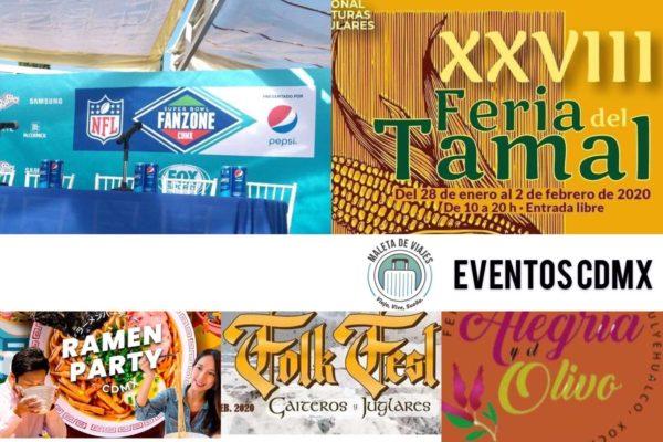 Maleta de Viajes, viajes, turismo, cultura, CDMX, Fan Zone, NFL, Super Bowl, CDMX, Día de la Candelaria