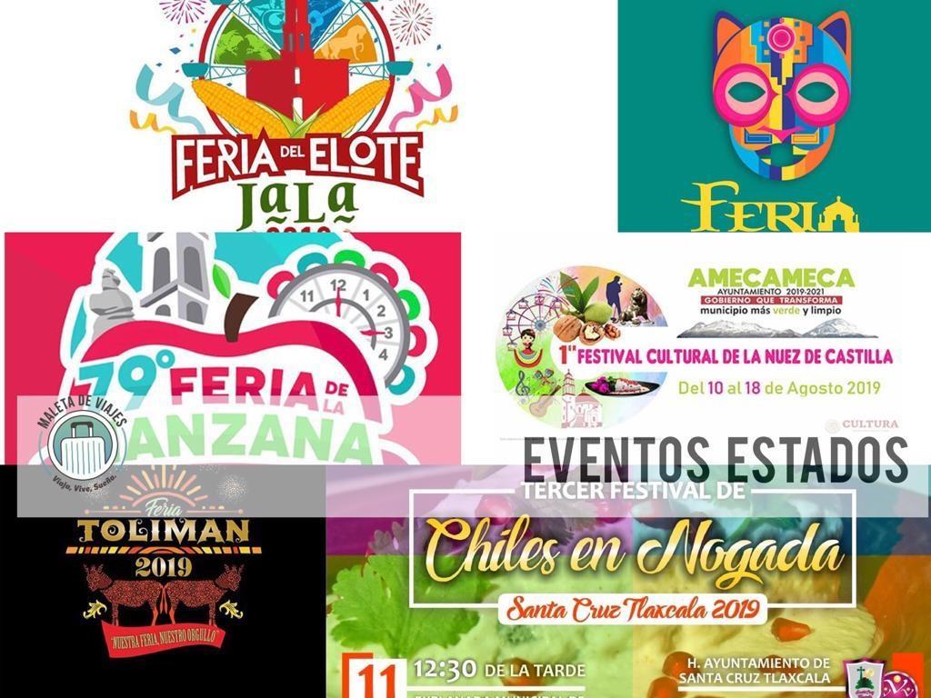Puebla, Jalisco, Nayarit, Estado de México, Tlaxcala, San Luis Potosí, Maleta de VIajes, turismo, aventura, estados