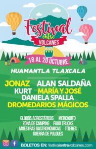 Festival Entre volcanes, Humantla, Tlaxcala, Maleta de Viajes, viajes, turismo, globos, aventura
