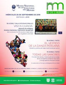Museo Nacional de las Culturas del Mundo, cultura, turismo, CDMX, Maleta de Viajes