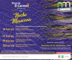 Museo de El Carmen, museos, Noche de Museos, cultura, turismo, CDMX, Maleta de Viajes