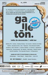 Galletón, CDMX, eventos, galletas, gastronomía, Maleta de Viajes, turismo