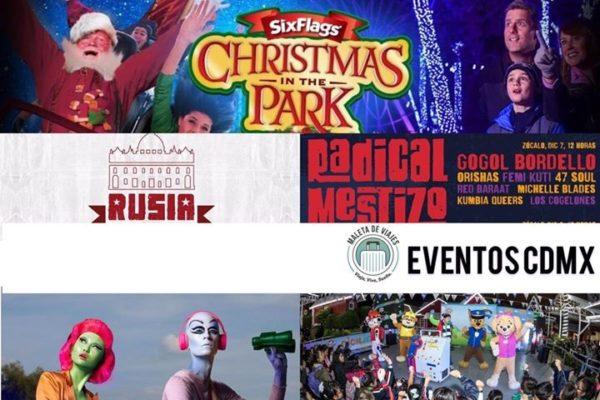 Maleta de Viajes, CDMX viajes, turismo, Navidad, Granja las Américas, Nickelodeon, Six Flags