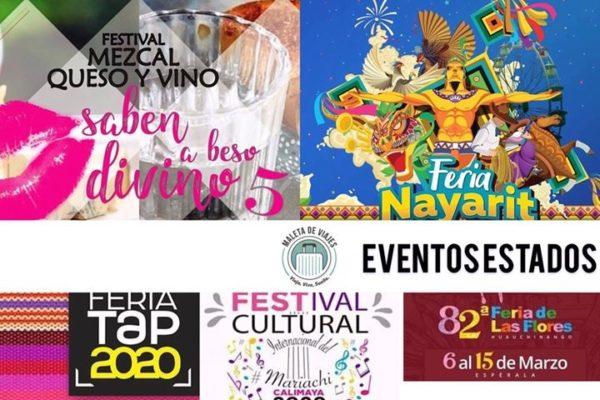 Maleta de Viajes, estados, viajes, turismo, aventura, Chiapas, Estado de México, Nayarit, Puebla