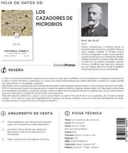 Editorial Porrúa, libros, cultura, ¡Libérate! Sana a través de tus chakras, Dentro de uno, Los cazadores de microbios, #PorrúaEnCasa, #ContagiaIdeas, #YoLeoEnCasa
