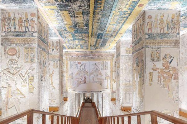 Maleta de Viajes, Egipto, tumbas, recorrido virtual, coronavirus, Notiviajeros