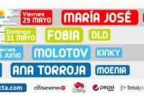 Maleta de Viajes, conciertos, Citibanamex Conecta, Citibanamex, Ocesa, Maleta Tech