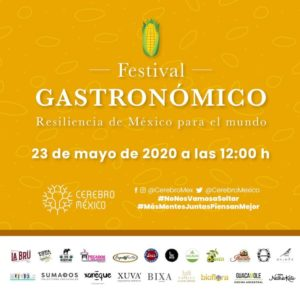 Maleta de Viajes, Festival Gastronómico , Cerebro, Baúl Gastronómico, apoyo a comercio
