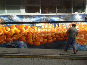 Maleta de Viajes, Ciudad Mural, cultura, arte, Colectivo Tomate