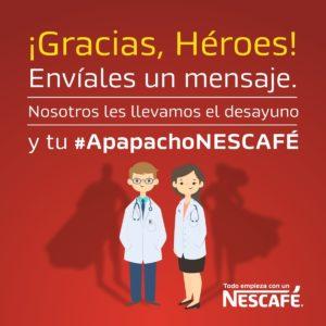 Maleta de Viajes, médicos, NESCAFÉ, COVID-19, #ApapachoNescafé, Notiviajero