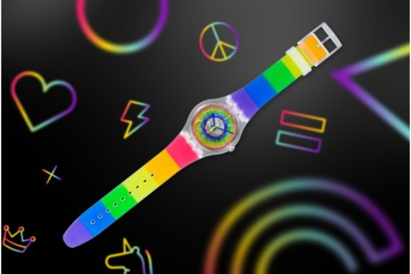 Maleta de Viajes, Orgullo LGBTIQ+, Swatch, relojes, Maleta Tech,