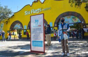 Six Flags México reabre sus puertas con  estrictos protocolos de higiene