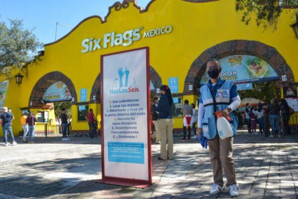 Maleta de Viajes, Six Flags, viajes, turismo, aventura, CDMX, parque de diversiones