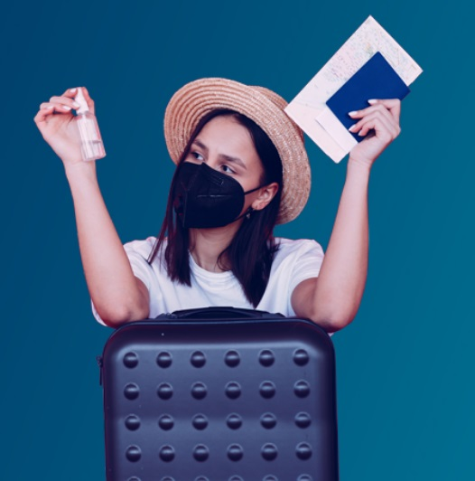 Maleta de Viajes, Maleta Ahorro, viajes, turismo, aventura, i-Covid, Universal Assistance