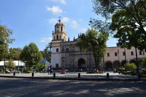 Iglesia en Coyoacán, Ciudad de México