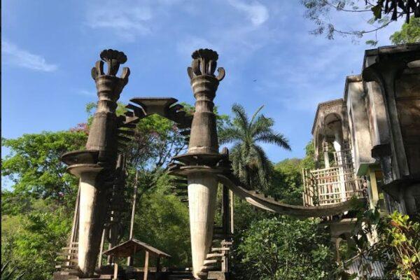 Maleta de Viajes, turismo, aventura, Great Gardens of the World, Jardín Escultórico Edward James, Maleta Eco