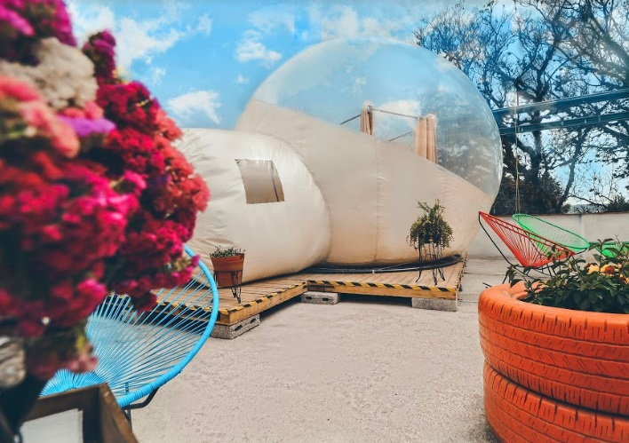 Maleta de Viajes, Hoteles, viajes, turismo, aventura, Huamantla, Tlaxcala, Glamping Amate