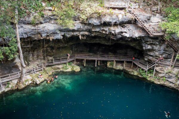 Maleta de Viajes, Hoteles, viajes, turismo, aventura, cenote x-canche, Yucatán
