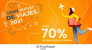PriceTravel Holding ofrece descuentos de hasta el 70%