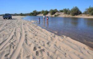 Colaboración México -E.U. trae flujos de agua para recuperar cauce del Río Colorado