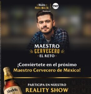 """TNT y Modelo presentan el reality """"Maestro  Cervecero: El Reto"""""""