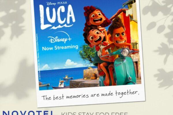 Maleta de Viajes, Hoteles, viajes, turismo, aventura, Disney+, LUCA, Novotel, Cine Maleta